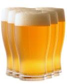 Flera glas öl