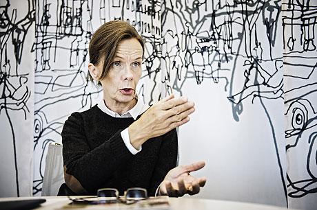 Diskrimineringsombudsmannen Agneta Broberg