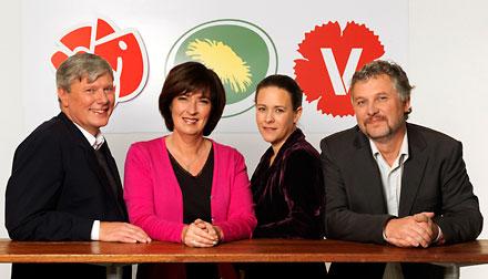 Rödgröna partiledare