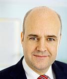 Statsminister Fredrik Reinfeldt (m)