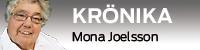 Krönike-vinjett med bild på Mona JOelsson