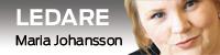Ledarvinjett med bild på Maria Johansson