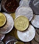 Mynt av olika valör