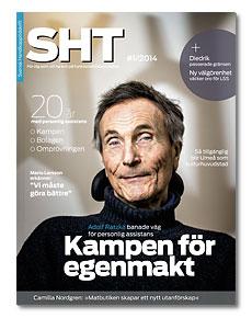 Omslaget till SHT 1-2014. Adolf Ratzka