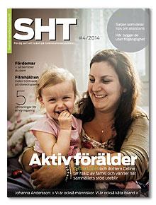 Omslaget till SHT 4-2014. Ceilia Lopes med dottern Celine