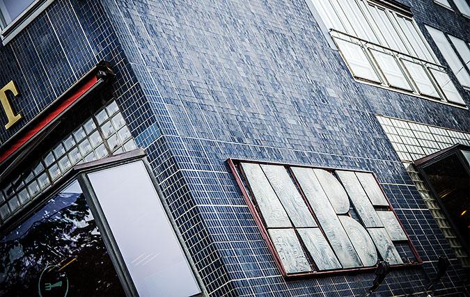 Bild av fasade till ABF-huset i Stockholm