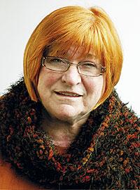 Porträtt av Ulla Lindeberg
