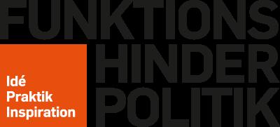 Logotypen för Funktionshinderpolitik